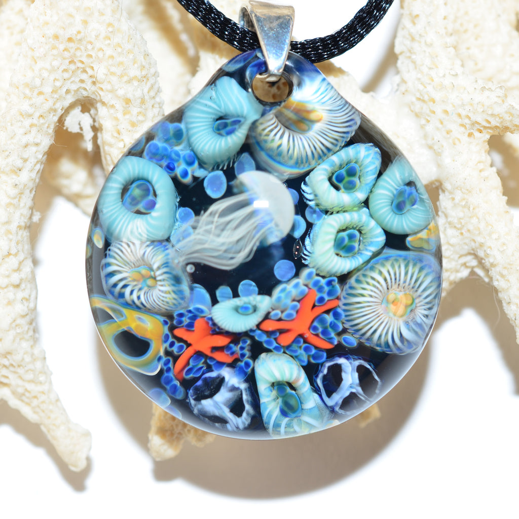 Jellyfish Tidal Pool Necklace