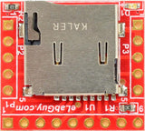 microSD card socket connector breakout board LED PCB