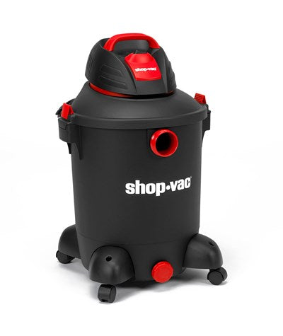Shop-Vac Wet Dry Vacuum Cleaner - Black and Red Design