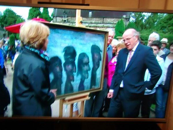 Antiques Roadshow appraise Arthur Berry painting on BBC 25/4/2016