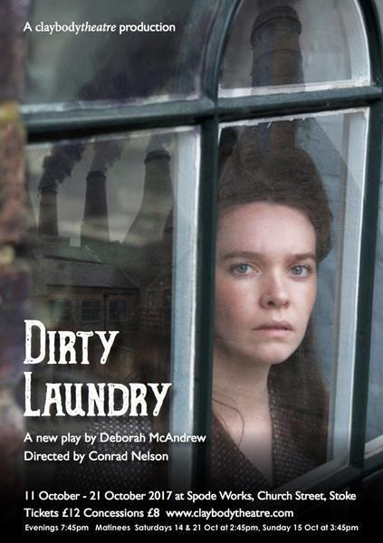 Tickets for Dirty Laundry by ex Corrie star Debbie McAndrew now at Barewall