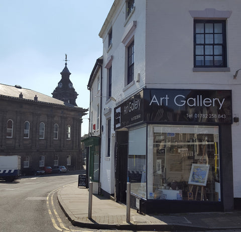 Barewall Art Gallery in Burslem, Stoke on Trent
