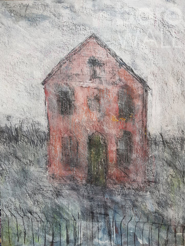 Chapel by Arthur Berry which Barewall sold from George Fullard Collection and has been donated to the British Heart Foundation