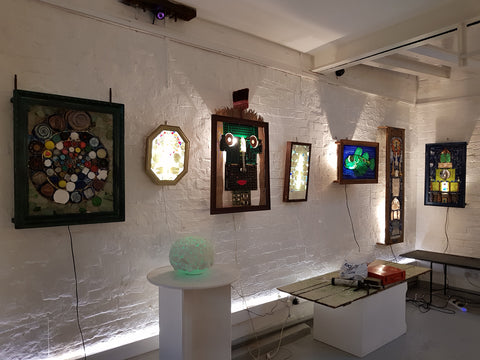 LIGHT GROTTO 2019 at Barewall Studio - To Hire the space get in touch with the gallery