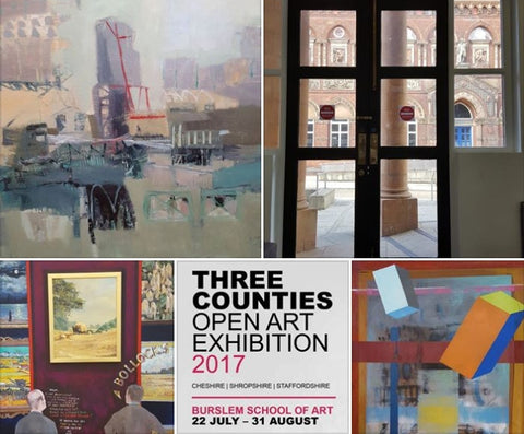 Three Counties Art Open 2017 at Burslem School of Art 21 Jul to 31 Aug 2017