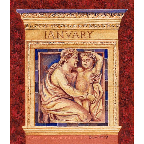 The Month of January - The Wedgwood Institute by Ronnie Cruwys