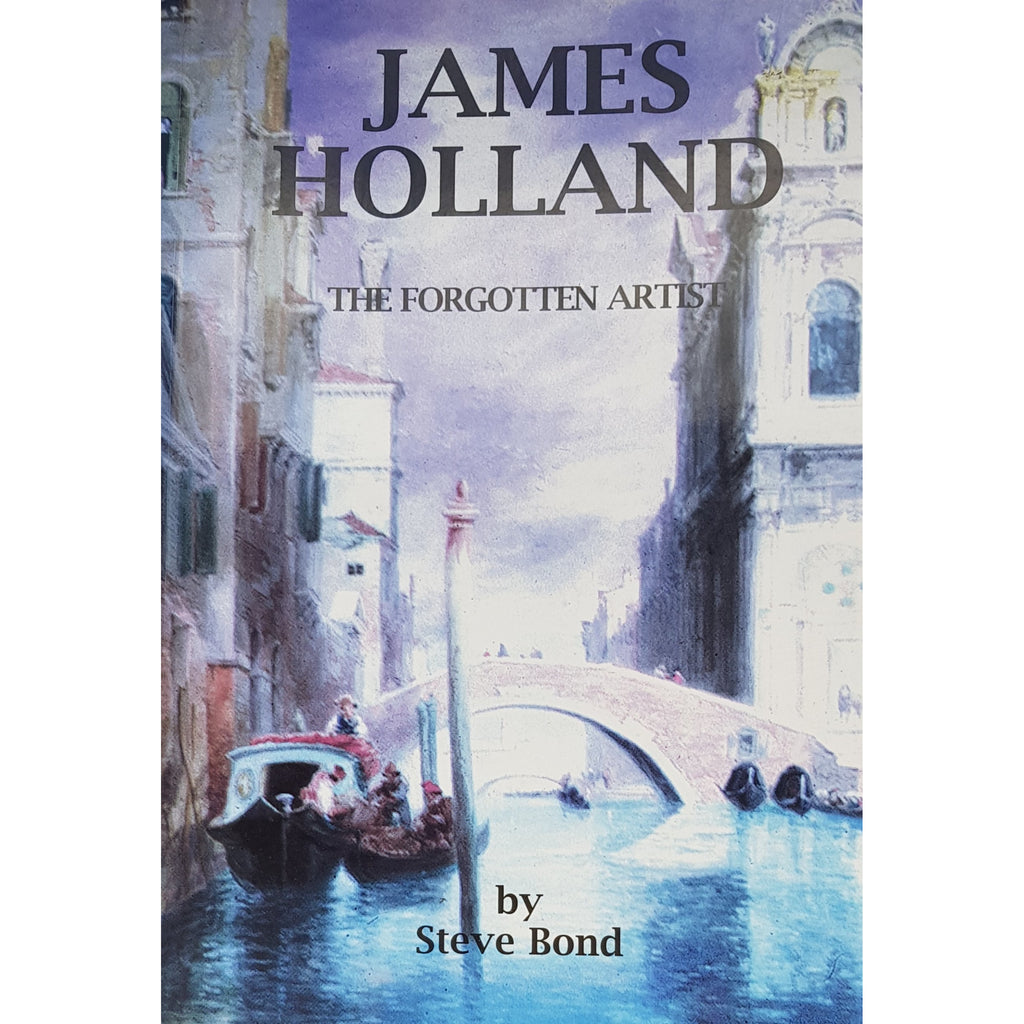 Barewall Books Book James Holland Oil painter born in Burslem  by Steve Bond