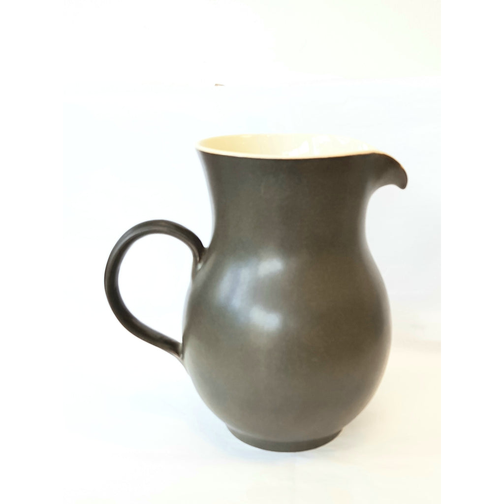 Brown Porcelain Jug by Agnete Hoy for Bullers