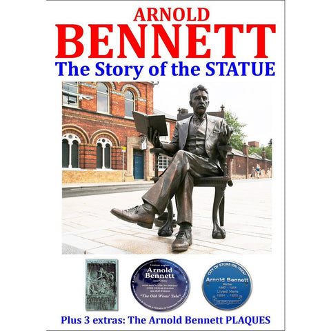 ARNOLD BENNETT - The Story of the Statue - Stoke on Trent Historical Film DVD