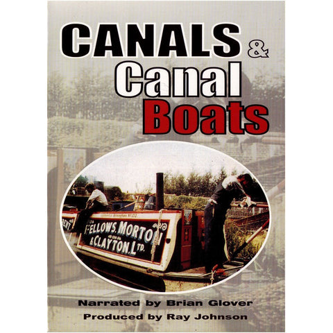 Canals and Canal Boats British Historical Film DVD