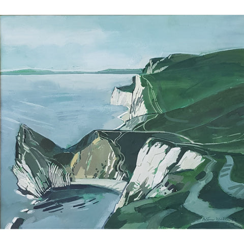 Cliffscape 1972 by Arthur Hackney