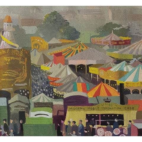 Fairground c1953 by Robert Bird