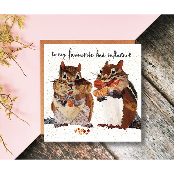 Stay in Touch collection of 10 blank greetings cards mixed designs by Barewall