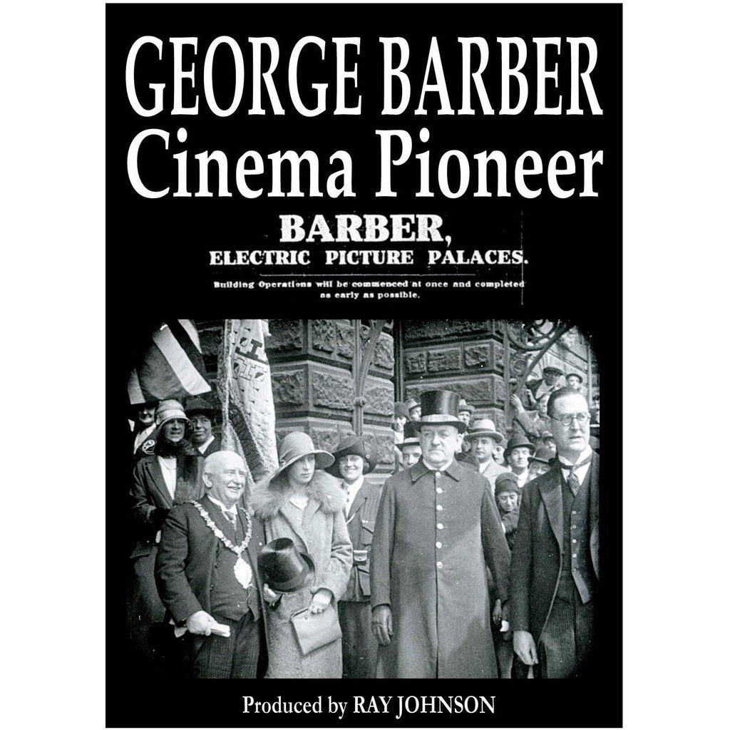 George Barber - Cinema Pioneer Stoke on Trent Historical Film DVD