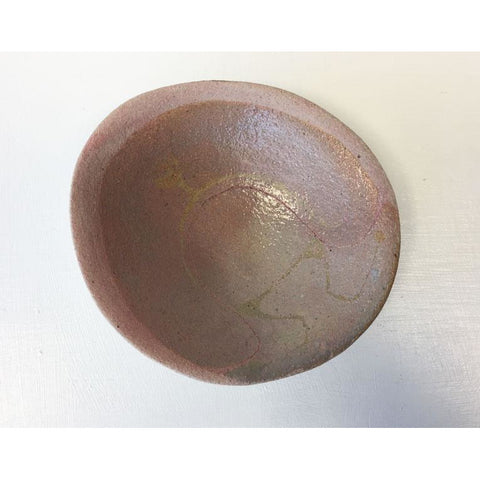 I14 Small Stoneware Dish by Ione Peries
