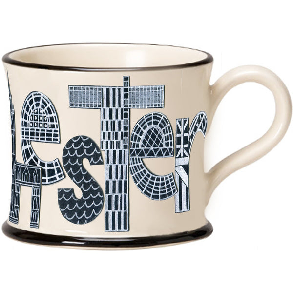 Manchester Mug by Moorland Pottery