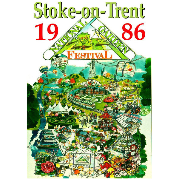The National Garden Festival Stoke on Trent 1986 Historical Film DVD