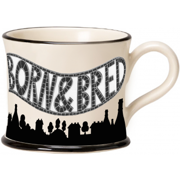 Stokie Born and Bred 2020 Mug by Moorland Pottery