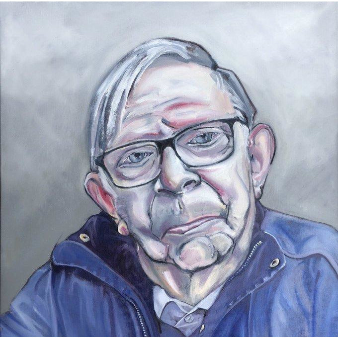 Nello, Freeman of Newcastle-under-Lyme Signed Print by Nick Moore