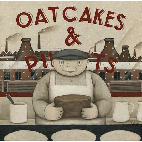 Oatcake Shop Print Ltd Edition Signed by Paine Proffitt