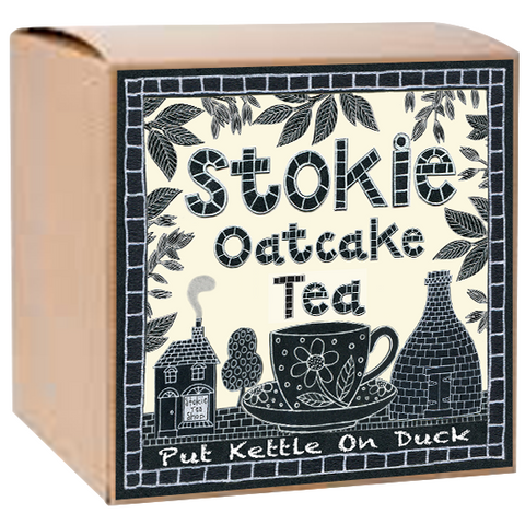Oatcake Tea refill by Moorland Pottery