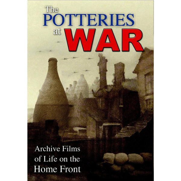 Potteries at War Archive Footage of Live on the Home Front Stoke on Trent Historical Film DVD