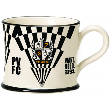 Port Vale 2020 Strip Mug by Moorland Pottery