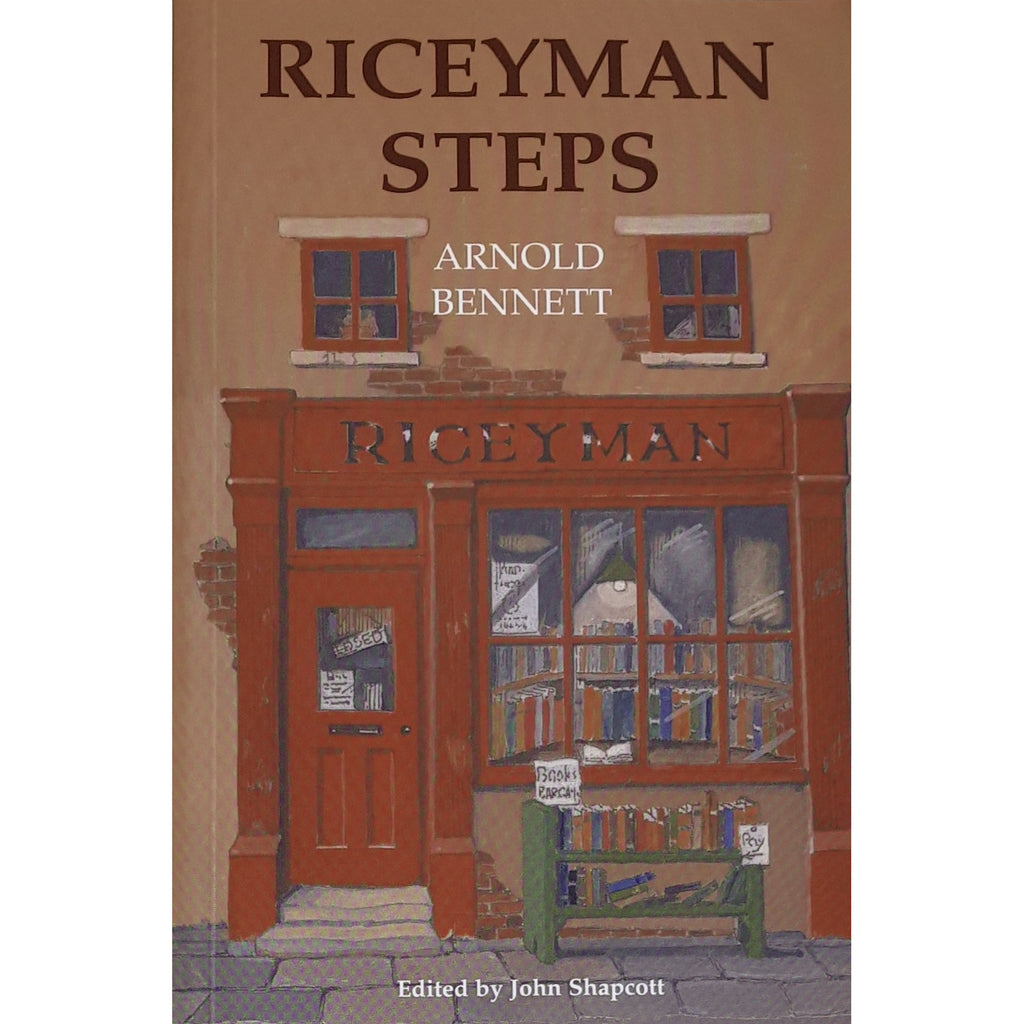 Barewall Books Book Riceyman Steps by Arnold Bennett