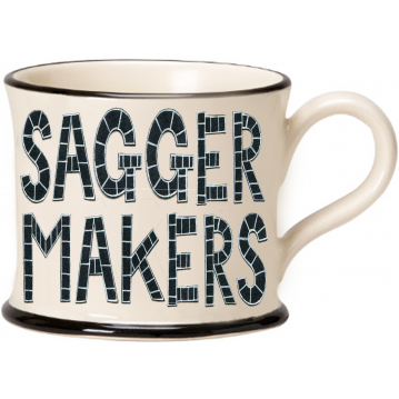 Sagger Makers Bottom Knocker Mug 2020 by Moorland Pottery