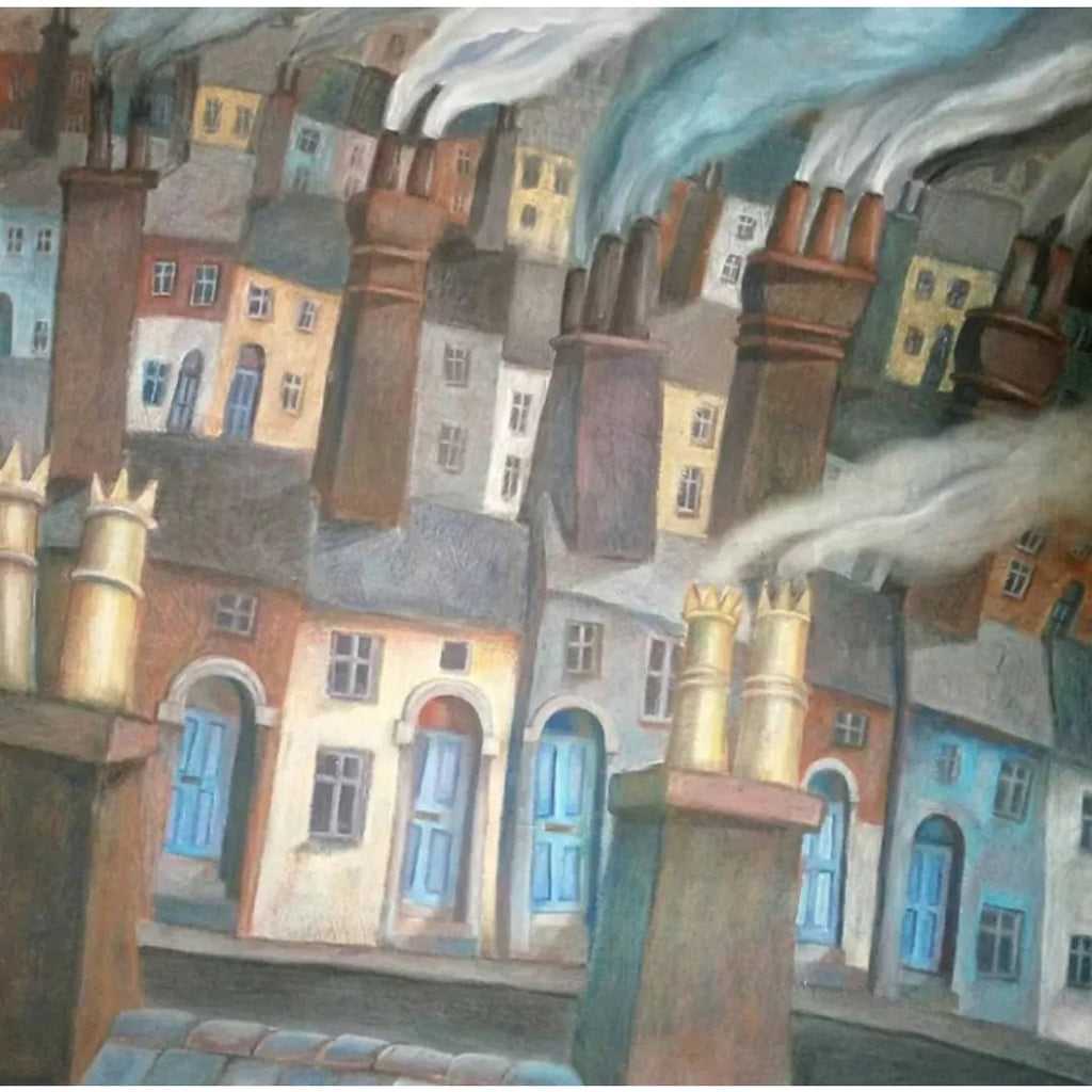 SL42 Terraced Streets by Stephen Liddle