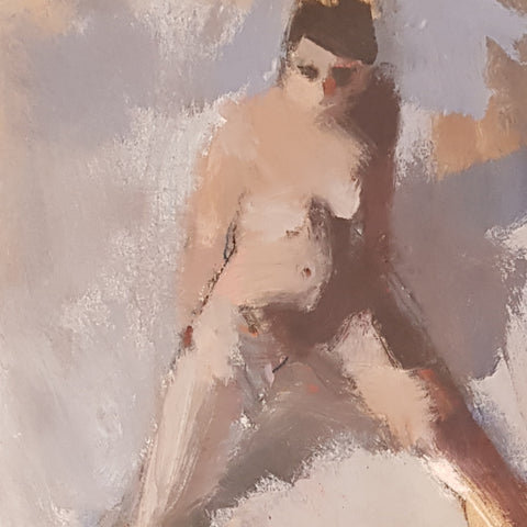 Seated Nude 2016 by Ian Mood