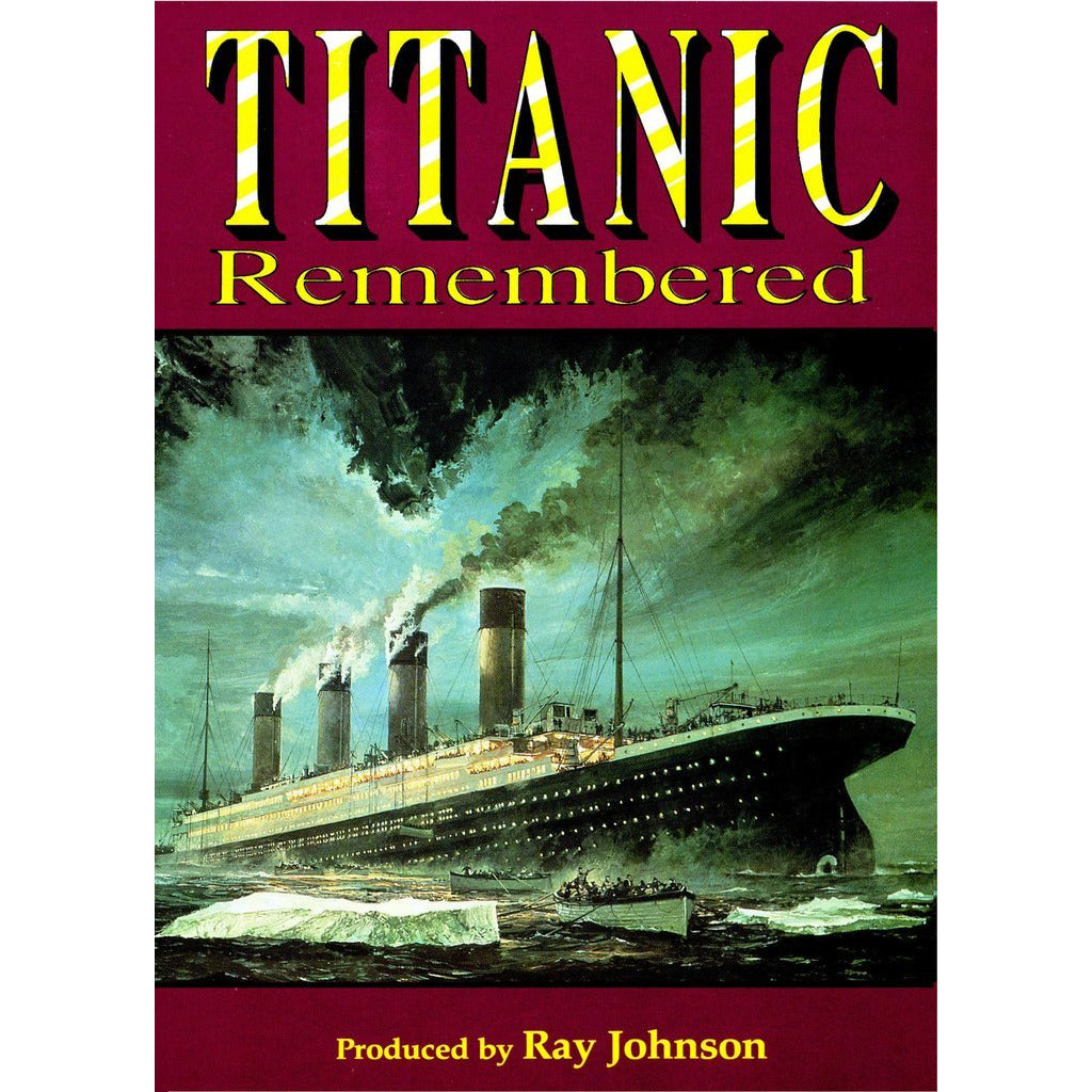Titanic Remembered Historical Documentary Film DVD