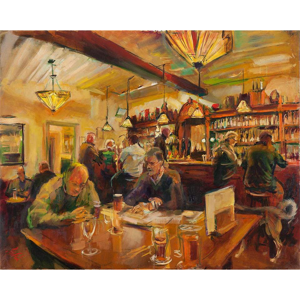 The Albion Ale House, Conwy 2014 by Rob Pointon