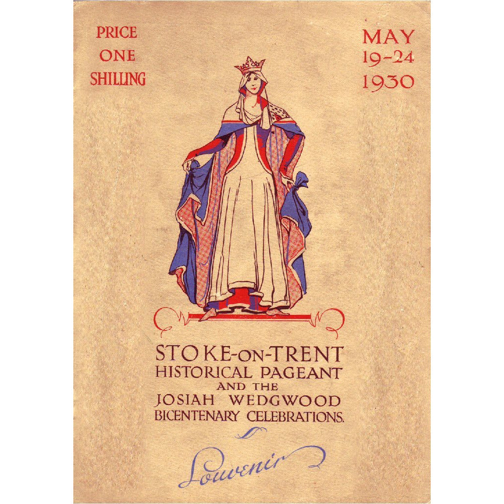 The Stoke-on-Trent Historical Pageant, May 1930 and Josiah Wedgwood Bicentenary Celebrations Restored Historical Film DVD