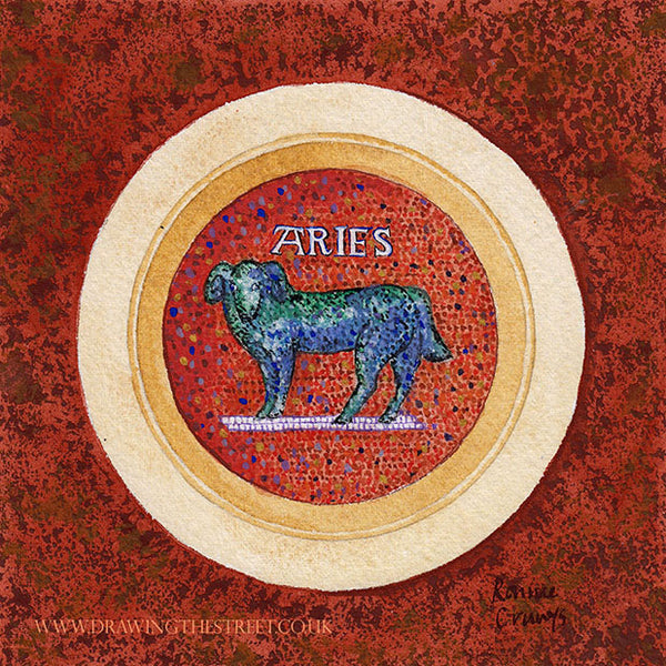 Aries The Ram by Ronnie Cruwys
