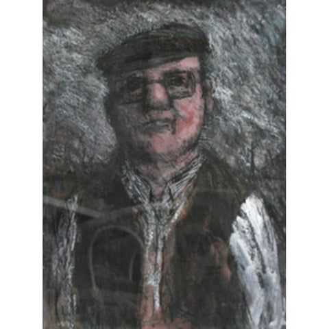 A Farming Man 1992 by  Arthur Berry | Original Art by Arthur Berry | Barewall Art Gallery