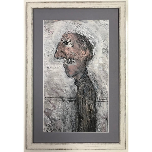 Arthur Berry Original Art A Thin Man 1994 by Arthur Berry
