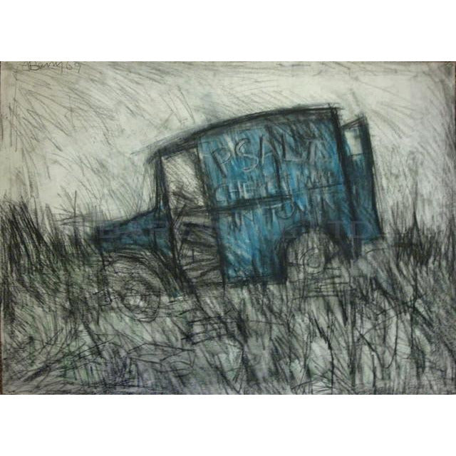 Abandoned Van 1969 by Arthur Berry | Original Art by Arthur Berry | Barewall Art Gallery