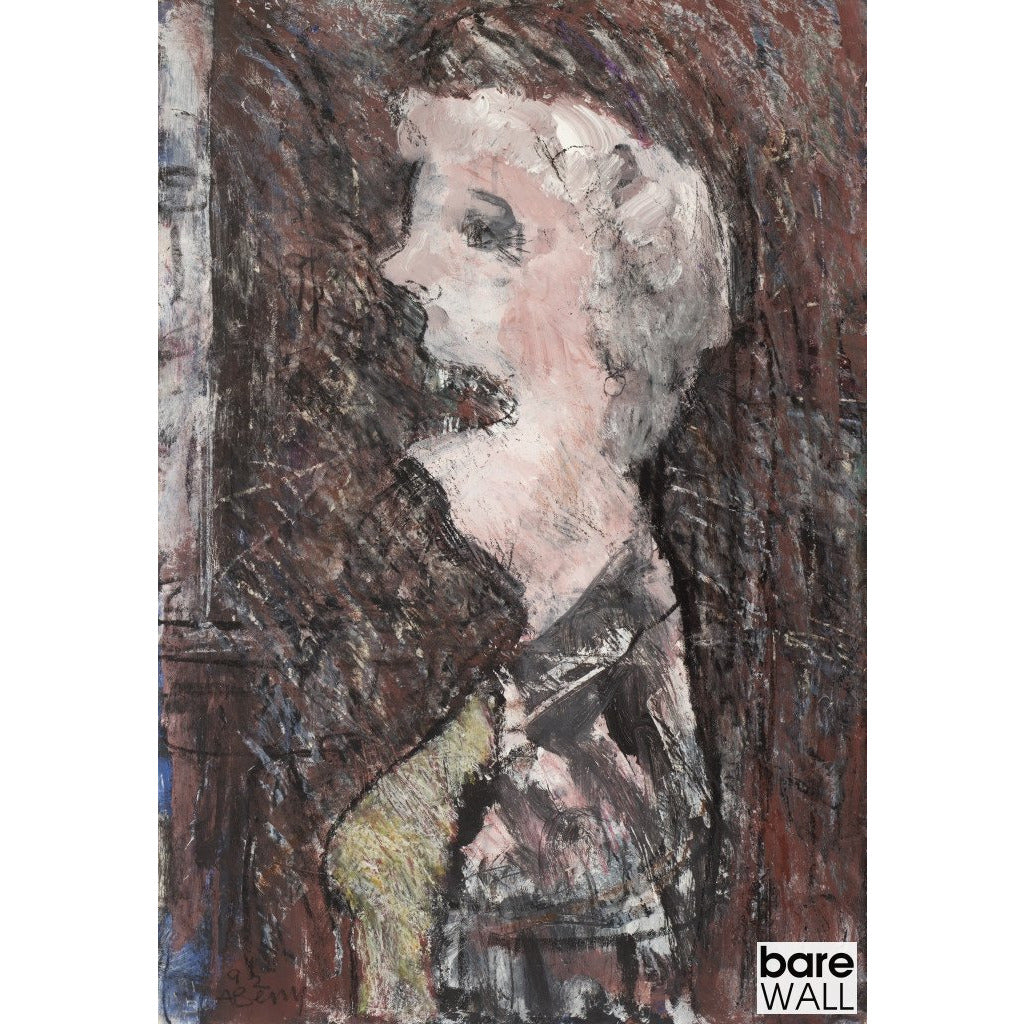 An Avenue Lady 1992 by Arthur Berry | Original Art by Arthur Berry | Barewall Art Gallery