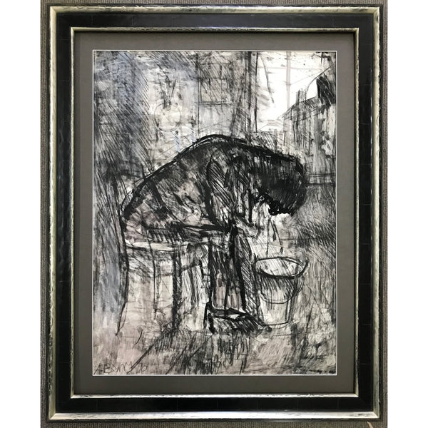 Arthur Berry Original Art Boozers Gloom 1970 by Arthur Berry
