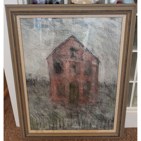 Chapel 1990 by Arthur Berry | Original Art by Arthur Berry | Barewall Art Gallery