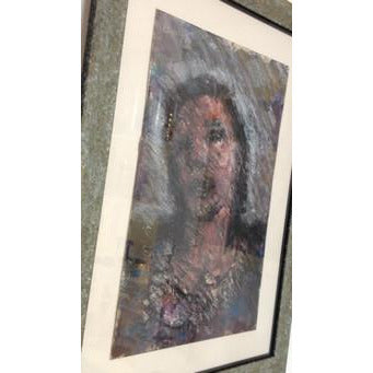 Head of A Woman 1990 by Arthur Berry | Original Art by Arthur Berry | Barewall Art Gallery