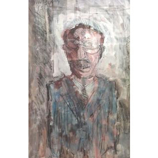 Arthur Berry Original Art Managerial Portrait 1994