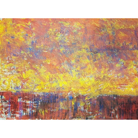 Arthur Berry Original Art Red Sky by Arthur Berry mixed media via Barewall