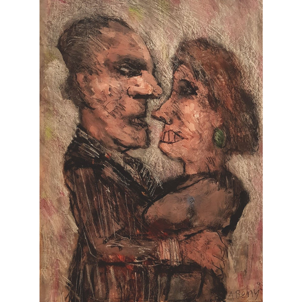 Arthur Berry Original Art The Last Tango 1993 by Arthur Berry