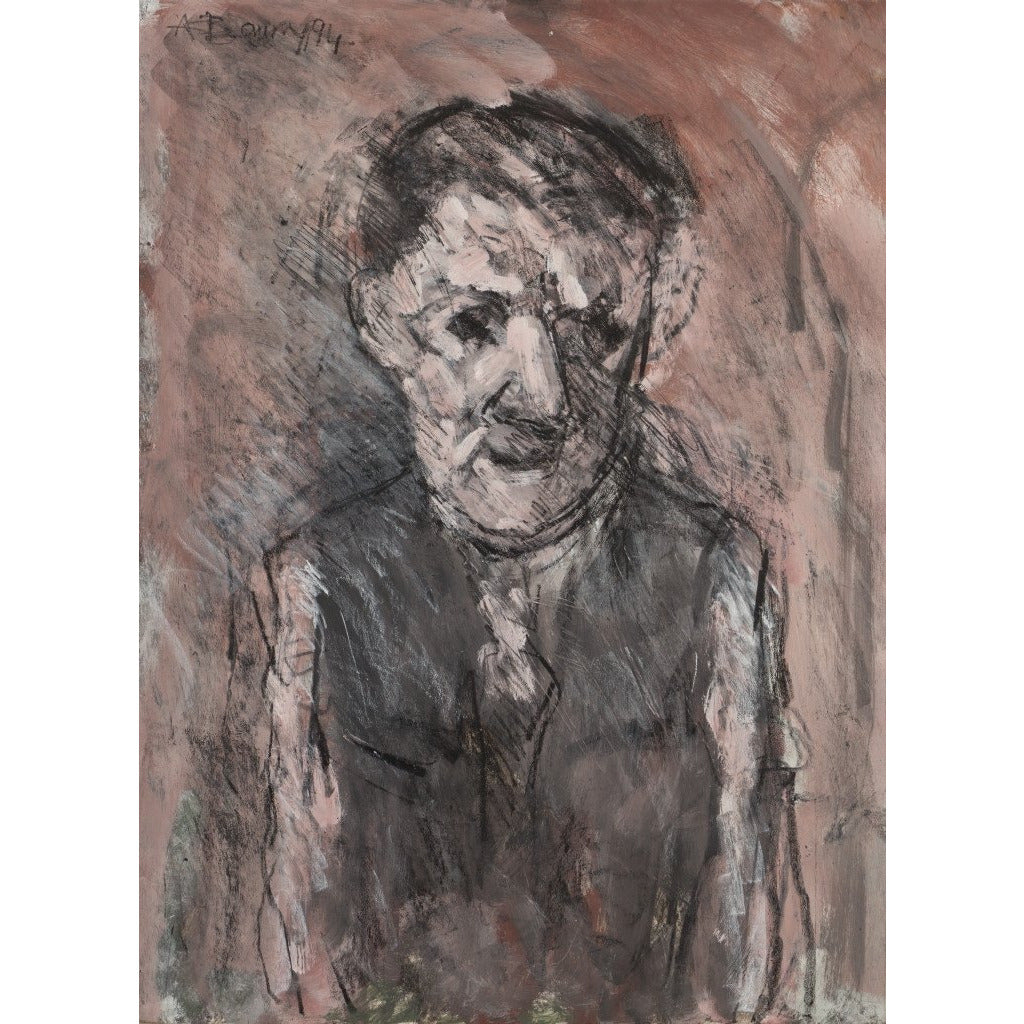 Arthur Berry Original Art The Proud Grandfather 1994 by Arthur Berry