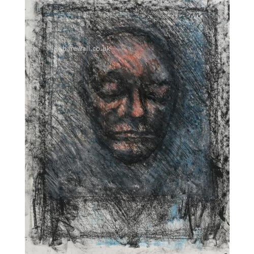 Arthur Berry Original Art William Blake's Death Mask
