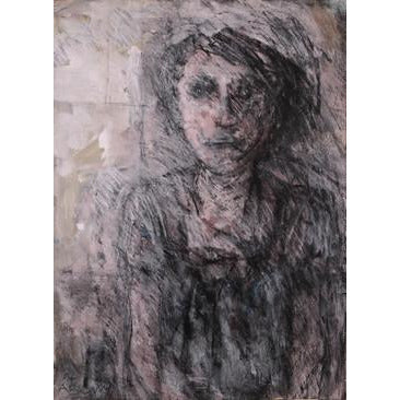 Arthur Berry Original Art Woman In Window (Eleanor Rigby)