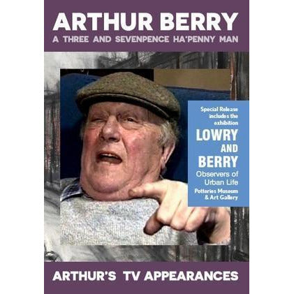 Barewall Books Book Arthur Berry: A Three and Sevenpence Ha'penny Man DVD