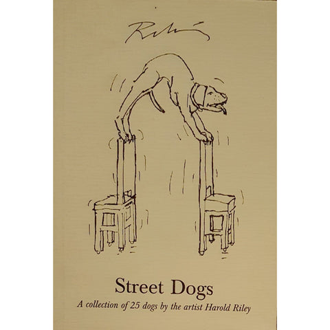 Barewall Books Book HR1 Street Dogs: A Collection of 25 Street Dogs by Harold Riley